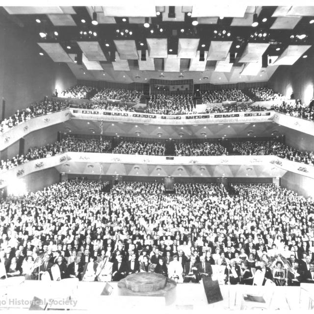 San Diego Civic Theatre on opening night from January 12, 1965.