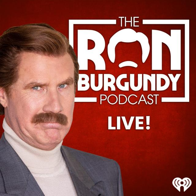 Ron Burgundy Podcast Live artwork