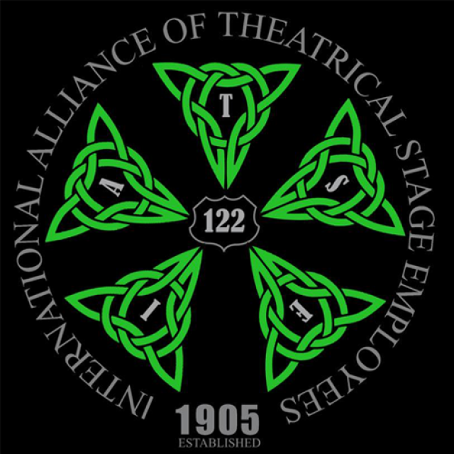 IATSE logo celtic version