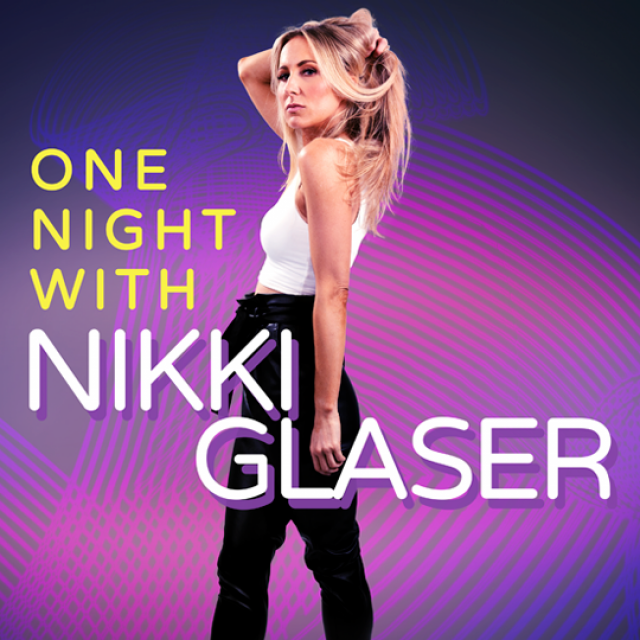 Nikki Glaser Tour artwork