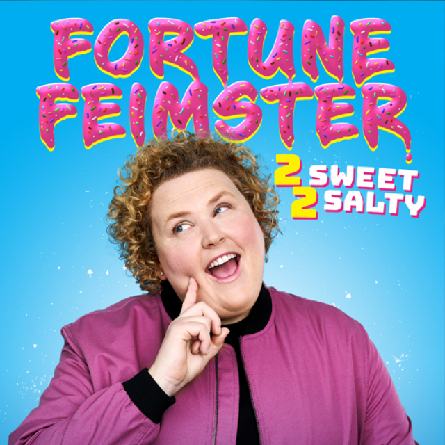 Fortune Feimster 2 Sweet 2 Salty Tour artwork